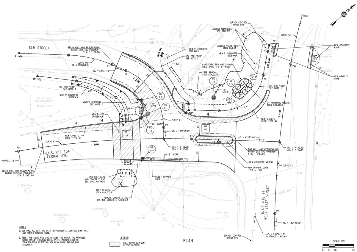 Hector-Floral Intersection Plans